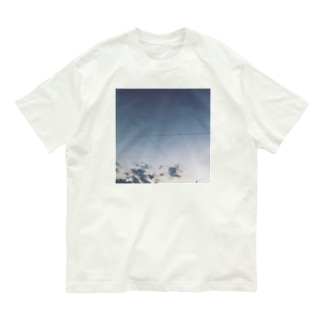 なんか言ってそうな空(スクエア) Organic Cotton T-shirts