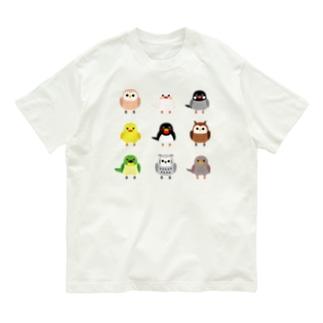 小鳥たち Organic Cotton T-shirts