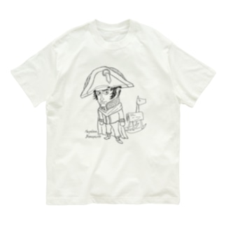 【ゆる偉人】ナポレオンさん Organic Cotton T-shirts