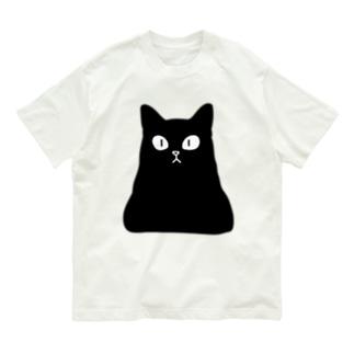 おにぎり型猫(黒猫) Organic Cotton T-Shirt