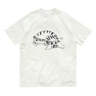 くねくねねこ Organic Cotton T-Shirt