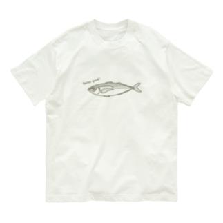 アジ Organic Cotton T-shirts