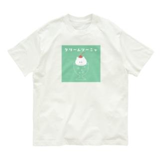 クリームソーニャ Organic Cotton T-shirts