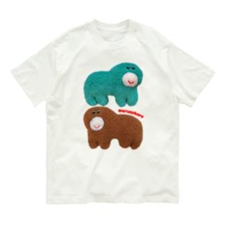 むにゅのまるそぼろくんたち Organic Cotton T-shirts