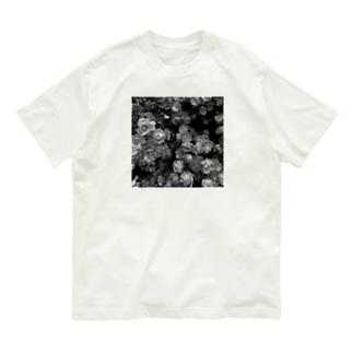 薔薇🌹 モノトーン Organic Cotton T-shirts
