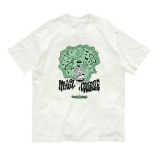 """MAGI COURIER"" green #1 Organic Cotton T-Shirt"