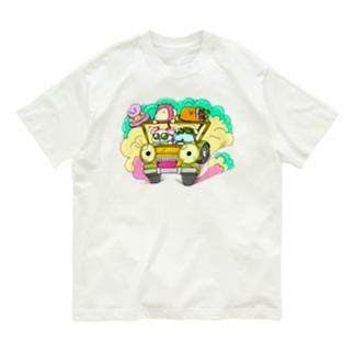 ドライブしちゃうよ。【カラー版】 Organic Cotton T-shirts