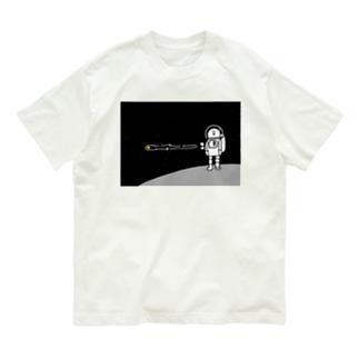 宇宙服を着た宇宙人 Organic Cotton T-shirts