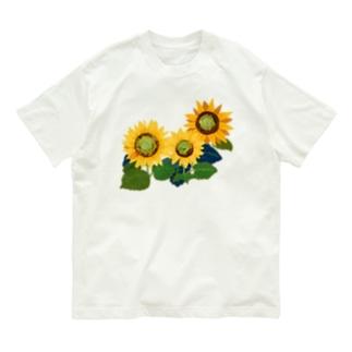 ひまわり Organic Cotton T-shirts