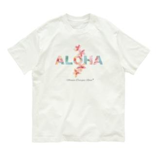 ALOHA * プルメリア Organic Cotton T-shirts