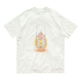 赤いランタン Organic Cotton T-Shirt