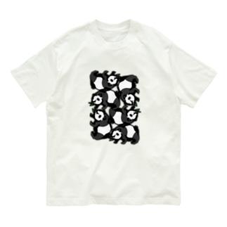 パンダ詰合せ Organic Cotton T-shirts