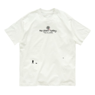 Re-start Today ver.2.10 Organic Cotton T-shirts