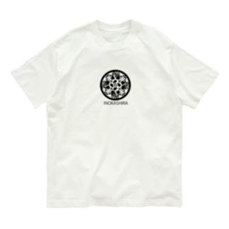 井の頭スワン家紋 Organic Cotton T-shirts