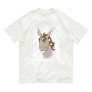 花散るロバ Organic Cotton T-shirts