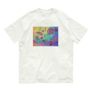 宇宙 Organic Cotton T-shirts