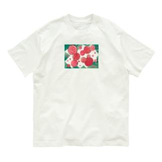 バラ🌹🍃 Organic Cotton T-shirts