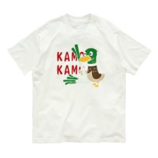 CT158 鴨カモ カモかも*C Organic Cotton T-shirts