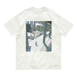 大阪駅の近く Organic Cotton T-Shirt