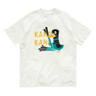 鴨カモ カモかも*C Organic Cotton T-Shirt