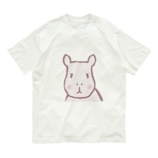 カピバラちゃん Organic Cotton T-shirts