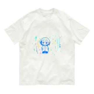 とある雨の日に。 Organic Cotton T-shirts
