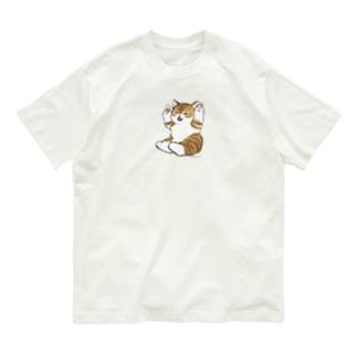 喜ぶ猫 Organic Cotton T-shirts