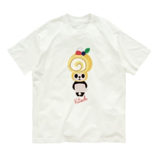 ロールケーキパンダ Organic Cotton T-shirts