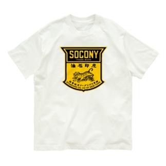 SOCONY 虎印石油 Organic Cotton T-shirts