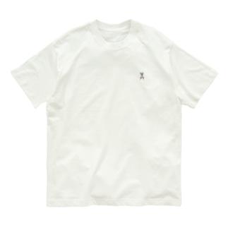 ミッケ(スフィンクスのポーズ) Organic Cotton T-shirts