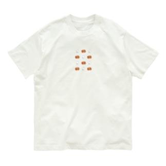 【てぃだ × mako aiga】《大柄》でちゅらくみちゃん と ドムくん  Organic Cotton T-shirts