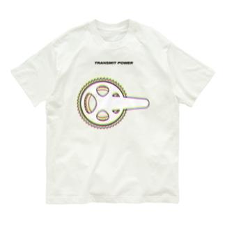 Cycling -Transmit Power- Organic Cotton T-shirts