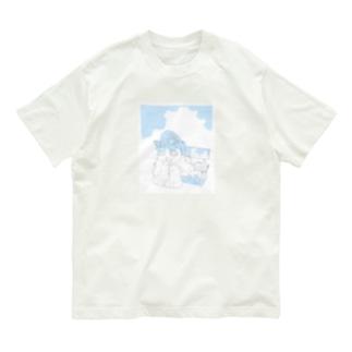 ねこのひとやすみ Organic Cotton T-shirts