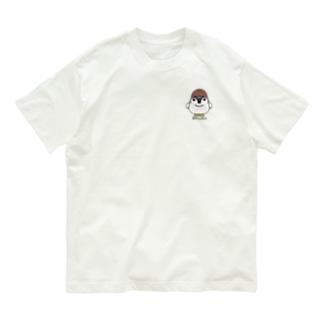 CT164 スズメがちゅんB*ちゅん*イラストサイズ小さいver* Organic Cotton T-shirts