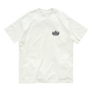 大日本帝国陸軍近衛師団帽章(ワンポイント グレー) Organic Cotton T-shirts