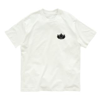 大日本帝国陸軍近衛師団帽章(ワンポイント 黒) Organic Cotton T-shirts