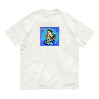 花を届けに。 Organic Cotton T-shirts
