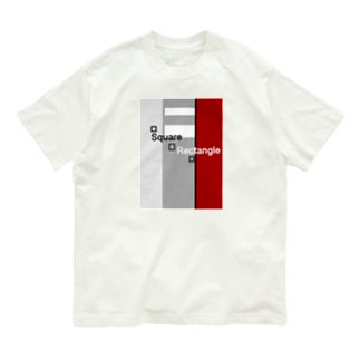 Square    Rectangle  Organic Cotton T-shirts