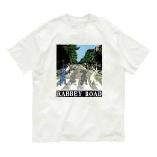 RABBEY ROAD タイトル入A Organic Cotton T-shirts