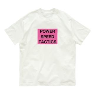 力・技・戦術 Organic Cotton T-shirts