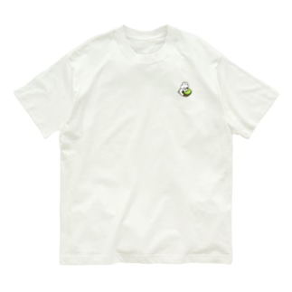 キウイとうさぎ Organic Cotton T-shirts