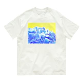 咲く ~アジサイ~ 3 Organic Cotton T-shirts