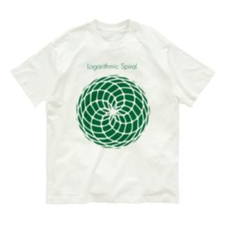 Logarithmic spiral Organic Cotton T-shirts
