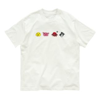 しりとり Organic Cotton T-shirts
