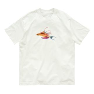 うみのいきもののクジャクベラ Organic Cotton T-shirts
