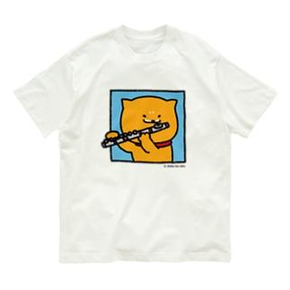 Tシャツ_窓ラク(フルート) Organic Cotton T-Shirt