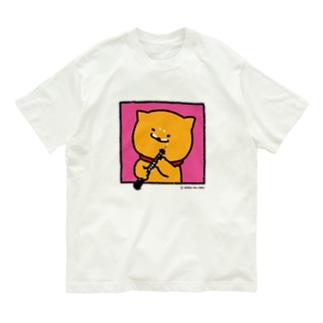 Tシャツ_窓ラク(オーボエ) Organic Cotton T-Shirt