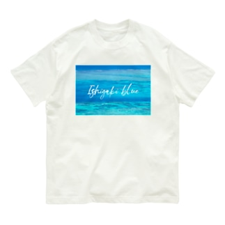 Ishigaki blue Organic Cotton T-shirts