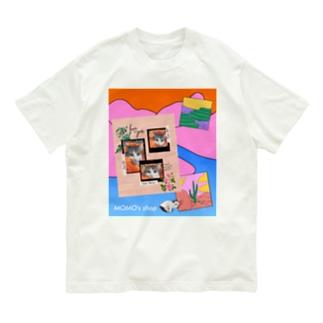 MOMOのレトロなデザイン #01 Organic Cotton T-shirts