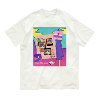 MOMOのレトロなデザイン #02 Organic Cotton T-shirts